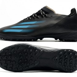 Adidas X Ghosted 1 TF Black Blue Football Boots