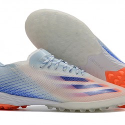 Adidas X Ghosted 1 TF Blue Orange Football Boots