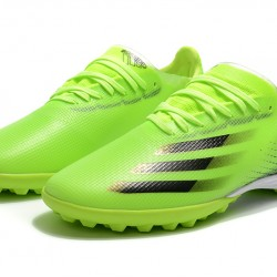 Adidas X Ghosted 1 TF Green Black Football Boots