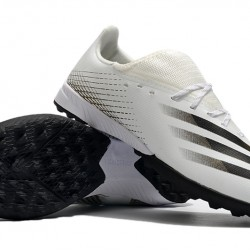 Adidas X Ghosted 3 TF Beige Black Football Boots