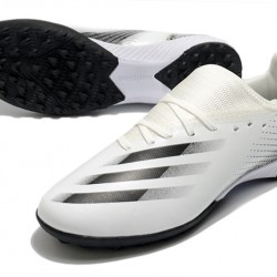 Adidas X Ghosted 3 TF Black Beige Football Boots