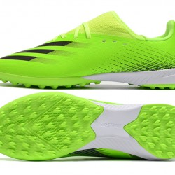 Adidas X Ghosted 3 TF Green Black Football Boots