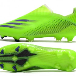 Adidas X Ghosted FG Mens Green Black Football Boots