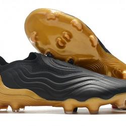 Adidas COPA Sense FG 39 45 Black Brown Low Football Boots
