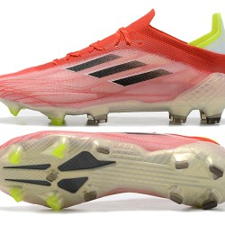 Adidas X Speedflow FG Peach Black Green Low Football Boots 39 45