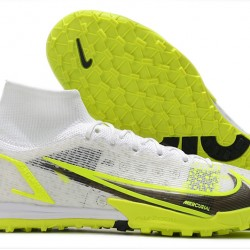 Nike Mercurial Superfly 9 Elite TF 39 45 Black Yellow High Football Boots