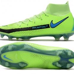 Nike Phantom GT Elite Dynamic Fit FG 39 45 Green Black High Football Boots