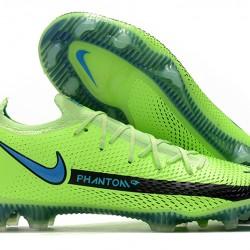 Nike Phantom GT Elite FG 39 45 Black Green Low Football Boots