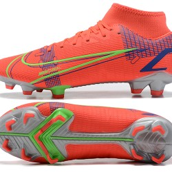 Nike Superfly 8 Academy FG 39 45 Red Gray