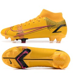 Nike Superfly 8 Academy FG 39 45 Yellow Black Football Boots