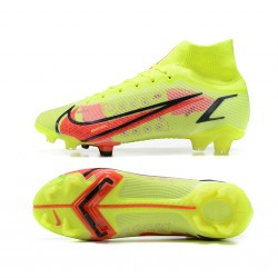 Nike Superfly 8 Academy FG 39 45 Yellow Red Football Boots