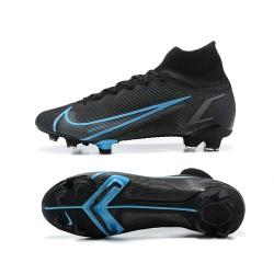 Nike Superfly 8 Academy FG39 45 Black Blue