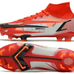 Nike Superfly 8 Spark Positivity CR7 Elite FG 35 45 Football Boots Red Black