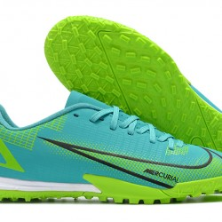 Nike Vapor 14 Academy TF 39 45 Black Blue Yellow Low Football Boots
