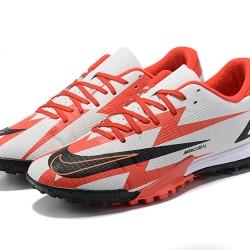 Nike Vapor 14 Academy TF 39 45 Black Red White Football Boots