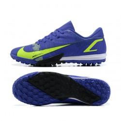 Nike Vapor 14 Academy TF 39 45 Deep Blue Green Low Football Boots