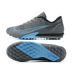 Nike Vapor 14 Academy TF 39 45 Grey Blue Low Football Boots
