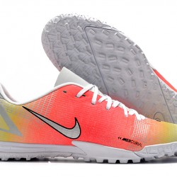 Nike Vapor 14 Academy TF 39 45 Orange Yellow White Low Football Boots