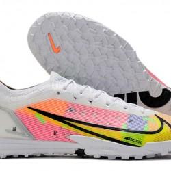 Nike Vapor 14 Academy TF 39 45 White Orange Black Low Football Boots