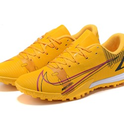 Nike Vapor 14 Academy TF 39 45 Yellow Red Low Football Boots
