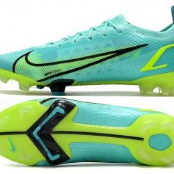 Nike Vapor 14 Elite MDS FG 35 45 Blue Yellow Black Football Boots