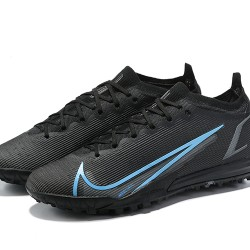 Nike Vapor 14 Elite TF 39 45 Black Blue Low Football Boots