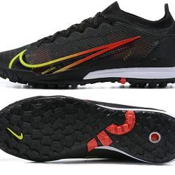 Nike Vapor 14 Elite TF 39 45 Black Green Red Low Football Boots