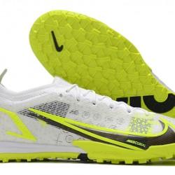 Nike Vapor 14 Elite TF 39 45 Grey Black Green Low Football Boots