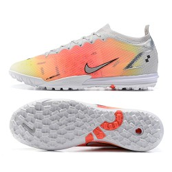 Nike Vapor 14 Elite TF 39 45 Grey Orange Low Football Boots