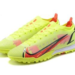 Nike Vapor 14 Elite TF 39 45 Red Black Yellow Low Football Boots