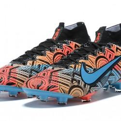 Nike Mercurial Superfly 7 Elite FG Blue Black Multi Football Boots