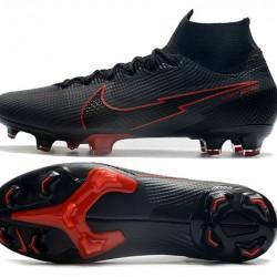 Nike Mercurial Superfly 7 Elite Korea FG Black Red Football Boots