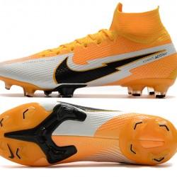 Nike Mercurial Superfly 7 Elite Korea FG Orange Silver Black Football Boots
