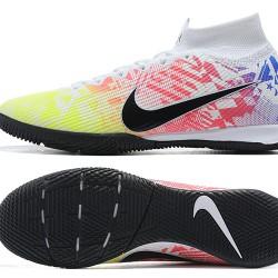 Nike Mercurial Superfly 7 Elite MDS IC Black Green Purple White Football Boots