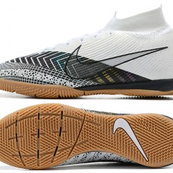 Nike Mercurial Superfly 7 Elite MDS IC White Black Football Boots