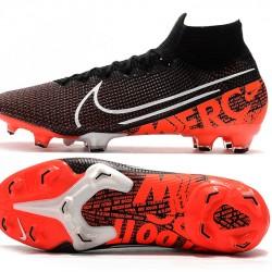 Nike Mercurial Superfly 7 Elite SE FG Black Orange White Football Boots