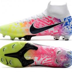 Nike Mercurial Superfly 7 Elite SE FG Black White Green Multi Football Boots