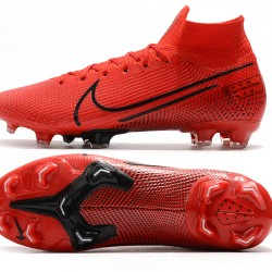 Nike Mercurial Superfly 7 Elite SE FG Deep Red Black Football Boots