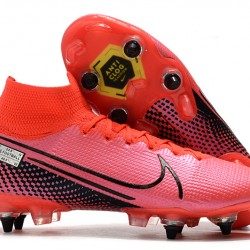 Nike Mercurial Superfly 7 Elite SG High Pink Black Football Boots