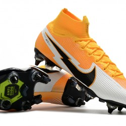 Nike Mercurial Superfly 7 Elite SG-PRO AC Orange Grey Black Football Boots