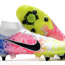Nike Mercurial Superfly 7 Elite SG-PRO AC White Green Black Multi Football Boots