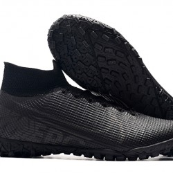Nike Mercurial Superfly 7 Elite TF All Black Football Boots