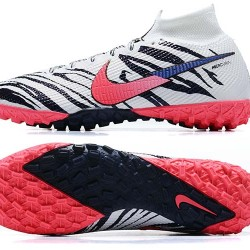 Nike Mercurial Superfly 7 Elite TF Black White Pink Football Boots