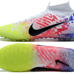 Nike Mercurial Superfly 7 Elite TF Green Black Red White Blue Football Boots