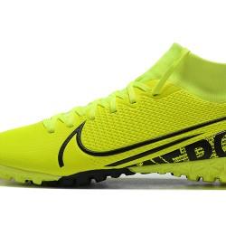 Nike Mercurial Superfly VII Academy TF Black Green Yellow Football Boots (5).jpg
