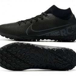 Nike Mercurial Superfly VII Academy TF Black Grey Football Boots