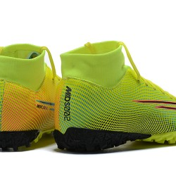 Nike Mercurial Superfly VII Academy TF Green Black Pink Red Football Boots
