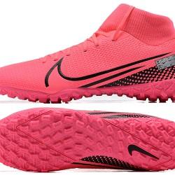 Nike Mercurial Superfly VII Academy TF Peach Black Football Boots