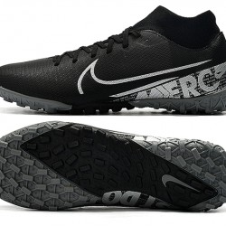 Nike Mercurial Superfly VII Academy TF White Black Football Boots