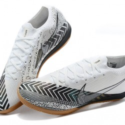 Nike Mercurial Vapor 13 Elite IC Black White Brown Football Boots